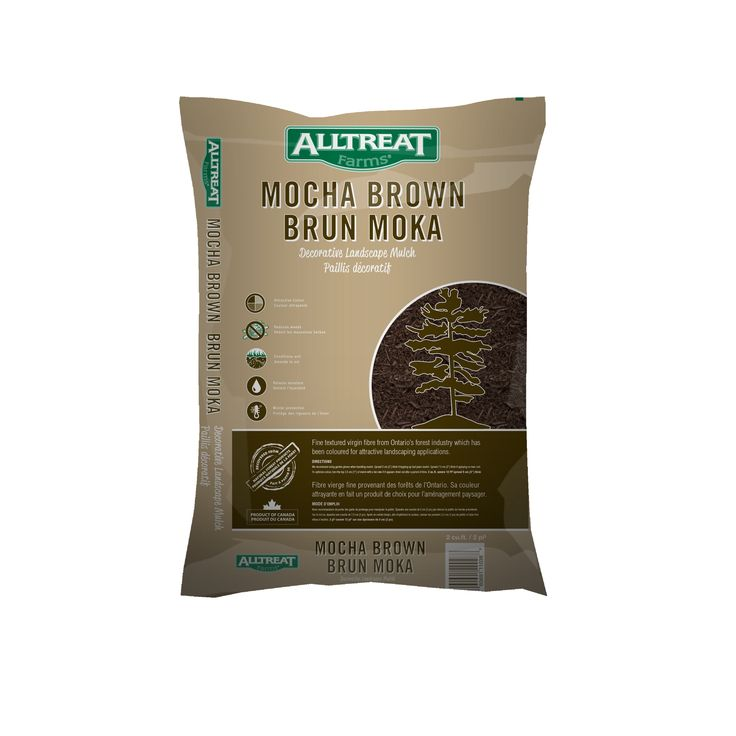 Brown Mulch, for more info go to http://www.alltreat.com