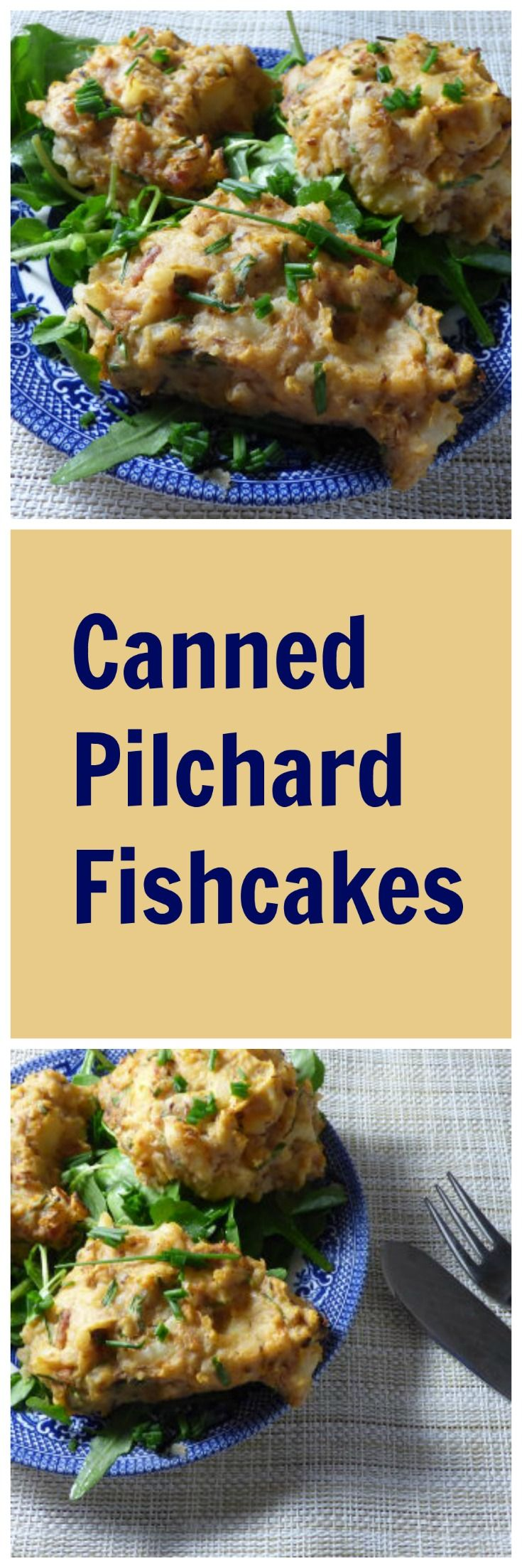 These canned pilchard fish cakes are baked not fried, and only use four ingredients. We're often being told that we should eat more oily fish – the NHS recommends eating oily fish every week. It can, in all honesty, be a hard thing to make appetising as an everyday meal, and fresh fish can be expensive. …