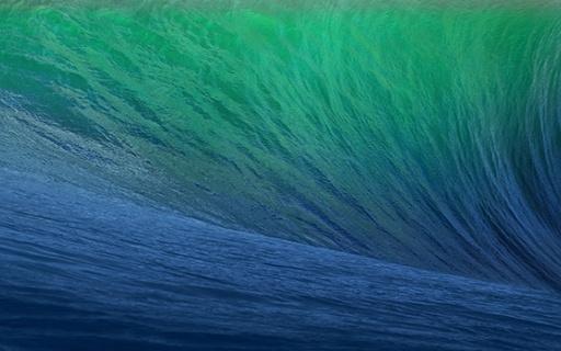 Official OS X Mavericks Wallpaper