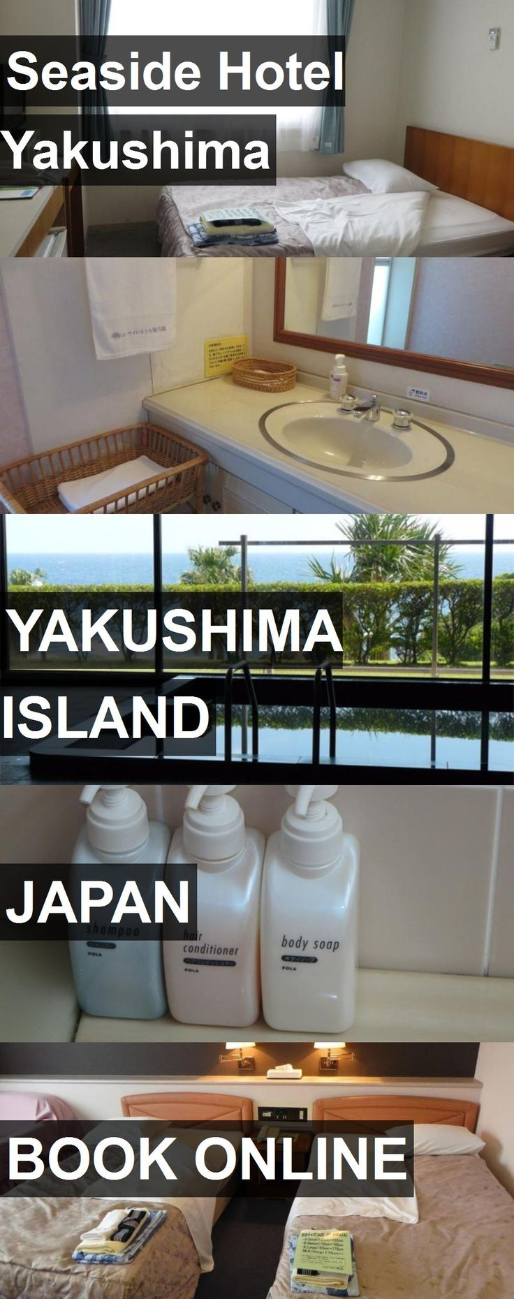 Hotel Seaside Hotel Yakushima in Yakushima Island, Japan. For more information, photos, reviews and best prices please follow the link. #Japan #YakushimaIsland #SeasideHotelYakushima #hotel #travel #vacation