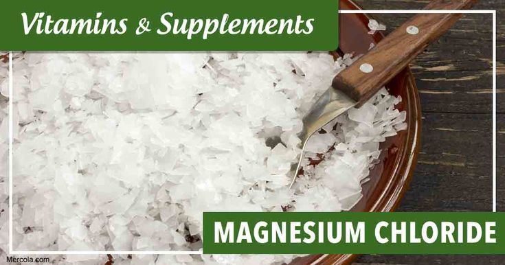 Learn more about magnesium chloride, its benefits, uses and side effects before you consider taking this supplement. https://articles.mercola.com/vitamins-supplements/magnesium-chloride.aspx?utm_source=dnl&utm_medium=email&utm_content=secon&utm_campaign=20171201Z1&et_cid=DM167980&et_rid=138041367