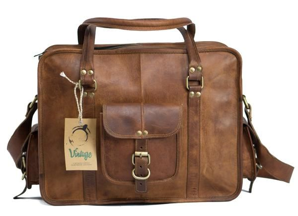 Leather Duffle Cabin Bag Kent