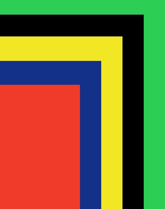 Poster Board Primary Colors, Variety Pack, 22x28, 5/PK