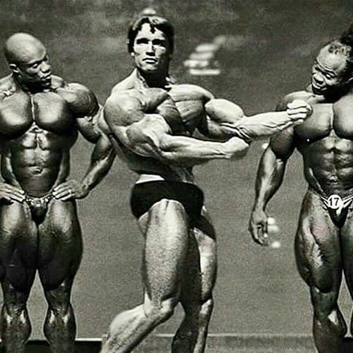 This is how legends are made. Congrats to 5x Mr. Olympia champ @philheath…