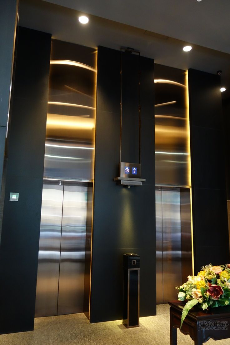 Tony chi design idea library pinterest love the elevator and buttons - Kleur corridor ...