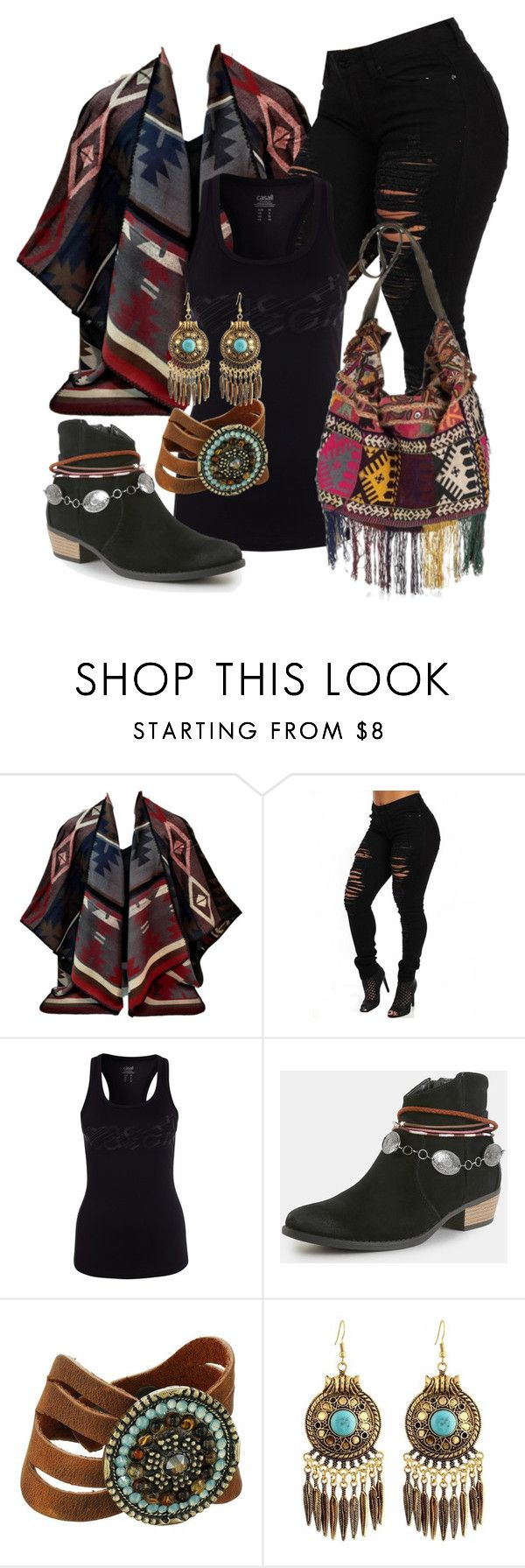 """Boémio"" by alice-fortuna ❤ liked on Polyvore featuring Leatherock"