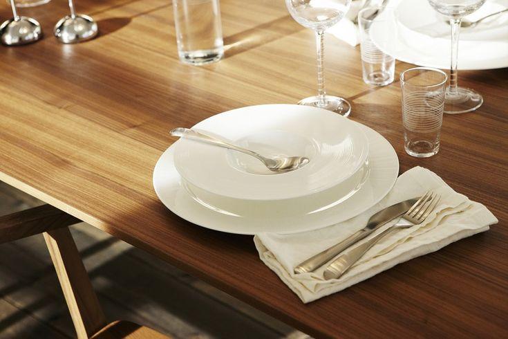 Assiettes blanches ikea collection stockholm vaisselle et linge de maison ikea table ikea - Ikea linge de maison ...