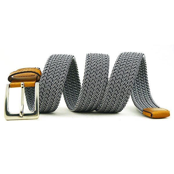 115CM Men Women Stretch Braided Elastic Canvas Belt Casual Pin Buckle Pants Strip at Banggood  men fashion accessories
