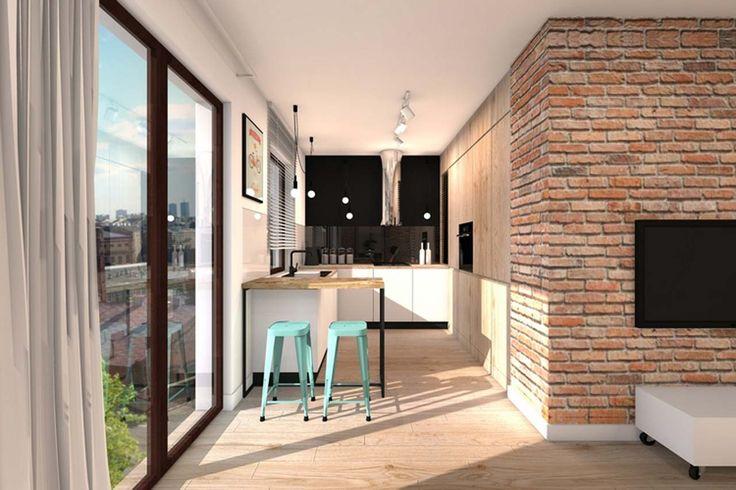 Best Home Interior Design Kichen Design ~ http://www.lookmyhomes.com/best-home-interior-design-ideas-15-photos-by-loft-in-katowice/