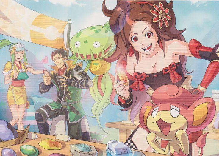 Pokémon Conquest Wallpaper