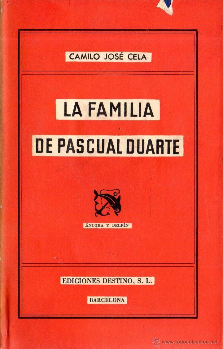 **COLECCION ANCORA Y DELFIN Nº63. LA FAMILIA DE PASCUAL DUARTE (CAMILO JOSE CELA).