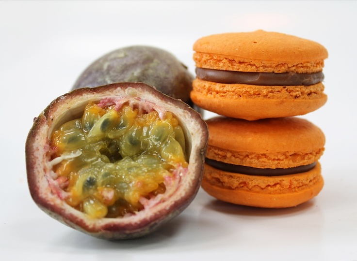 Passionfruit Macaroon by milK & HONEY Pâtisserie