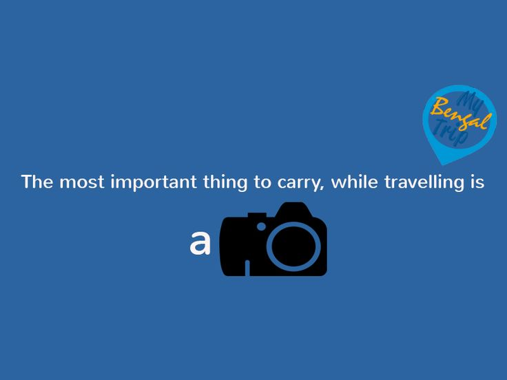 Keep travelling http://mybengaltrip.com