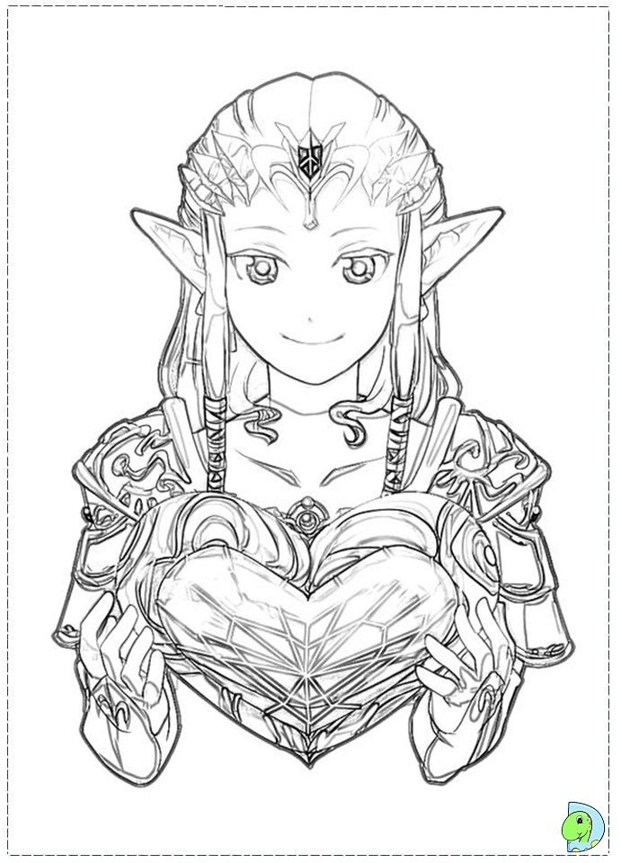 85 best Legend of Zelda coloring pages images on Pinterest | Zelda ...