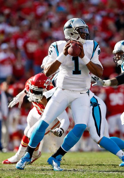 Cam Newton, Quarterback, Carolina Panthers. Newton was drafted 1st overall by the Panthers out of Auburn University.
