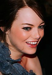 "Emily Jean ""Emma"" Stone (born November 6, 1988) Stone was a cast member of the TV series Drive, and made her feature film debut in the comedy Superbad (2007). She appeared in The House Bunny (2008) and Ghosts of Girlfriends Past (2009). She then starred in the horror-comedy Zombieland and the indie comedy Paper Man in 2009. In 2010, Stone voiced the character Mazie in Marmaduke, and starred in the high school comedy Easy A, which earned her a nomination for a Golden Globe."
