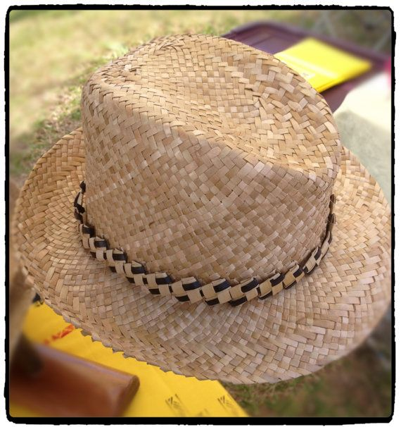 Hand woven Lauhala Fidora Hat Order No. by UlanaLauhala on Etsy, $175.00