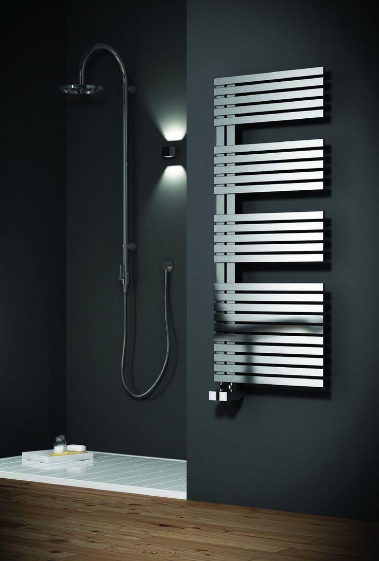 The entice designer heated towel rails are the ultimate in bathroom luxury visit designer bathroom concepts for the ultimate in bathroom radiators