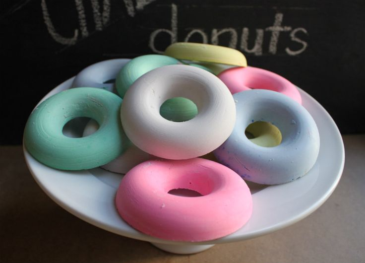 Why would I do this to myself? Why would I experiment all day long, setting dozens of pans of chalk donuts, one set failing after the...
