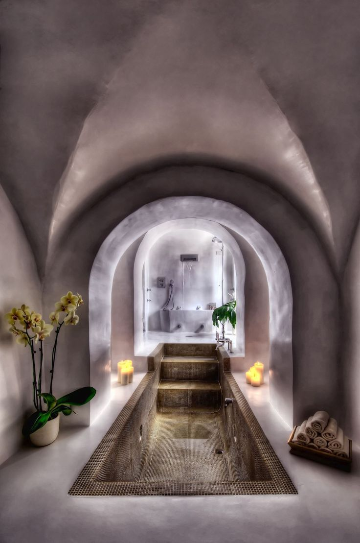 Italian spa style to copy in your bathroom - arch gorgeousness Il Salviatino - Florence, Italy A genially... Luxury Accommodations