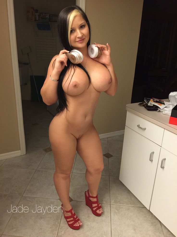 I love listening to my Beats while cleaning the house naked  follow me on Twitter @jadejaydenxxx