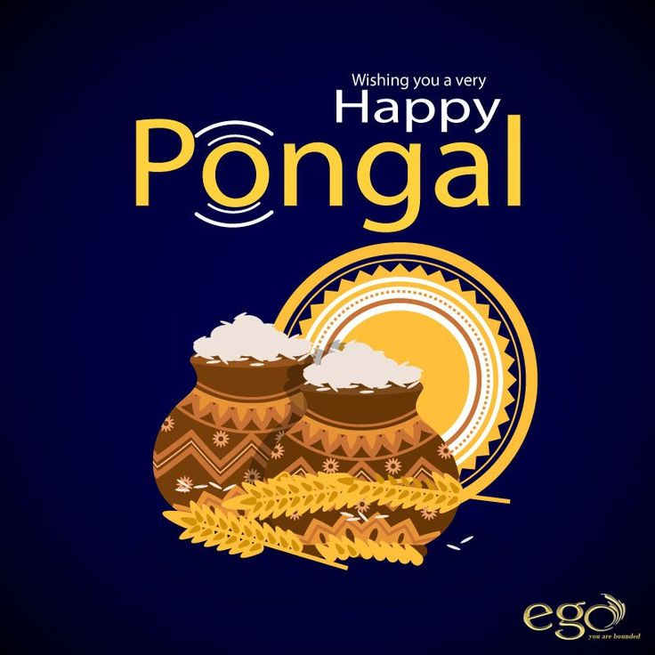 Wishing you a very #HappyPongal