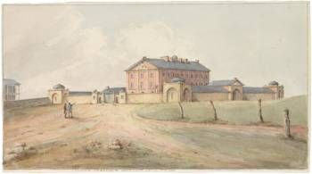 Convicts from the Marquis of Hastings were taken to Hyde Park Barracks in 1826
