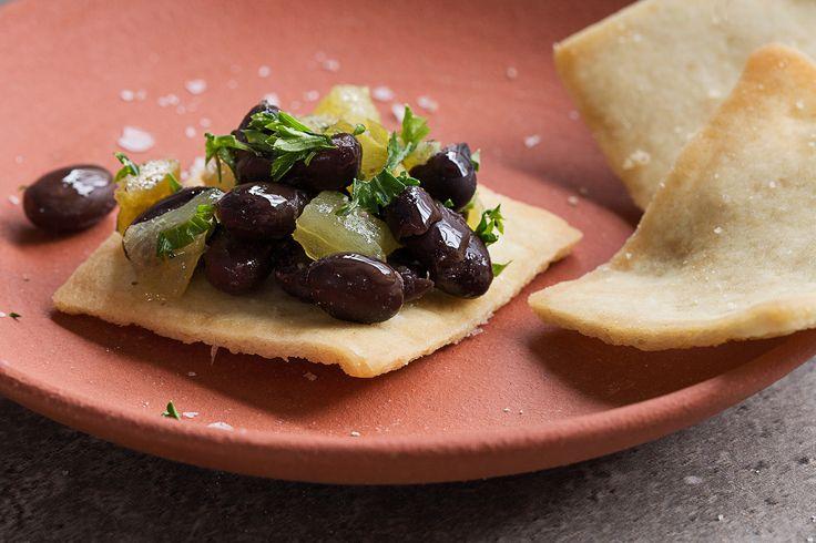 Green Chile & Black Bean Salsa by Chef Hugh Acheson