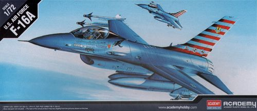 General Dynamics F-16A Fighting Falcon. Academy, 1/72, injection, No.12444. Price: 5,63 GBP.