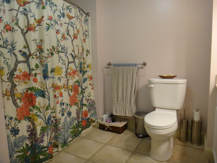 Zinnia Palampore Organic Shower Curtain (@Pottery Barn