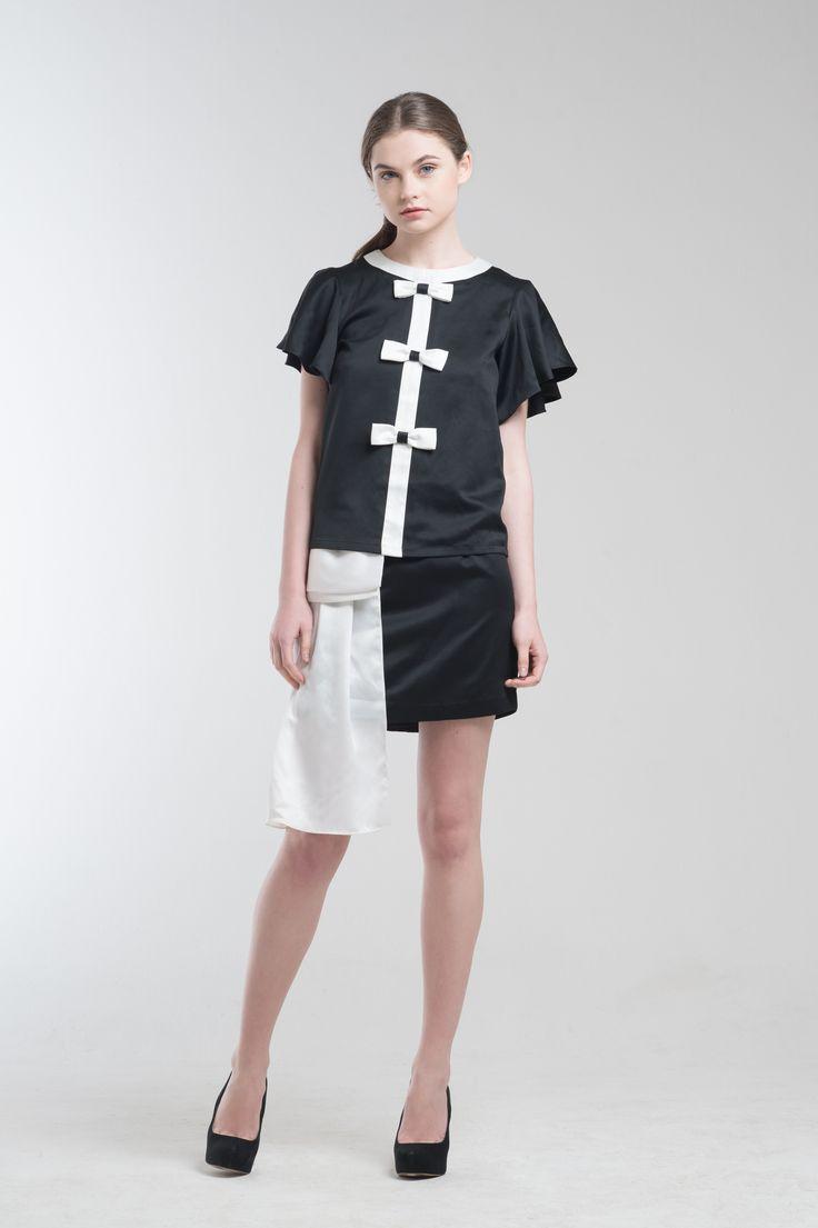 Regata Top and Illona Skirt from Jolie Clothing  #JolieClothing www.jolie-clothing.com  #Fashion #designer #jolie #Charity #foundation #World #vision #indonesia  #online #shop #stefanitan #fannytjandra #blogger