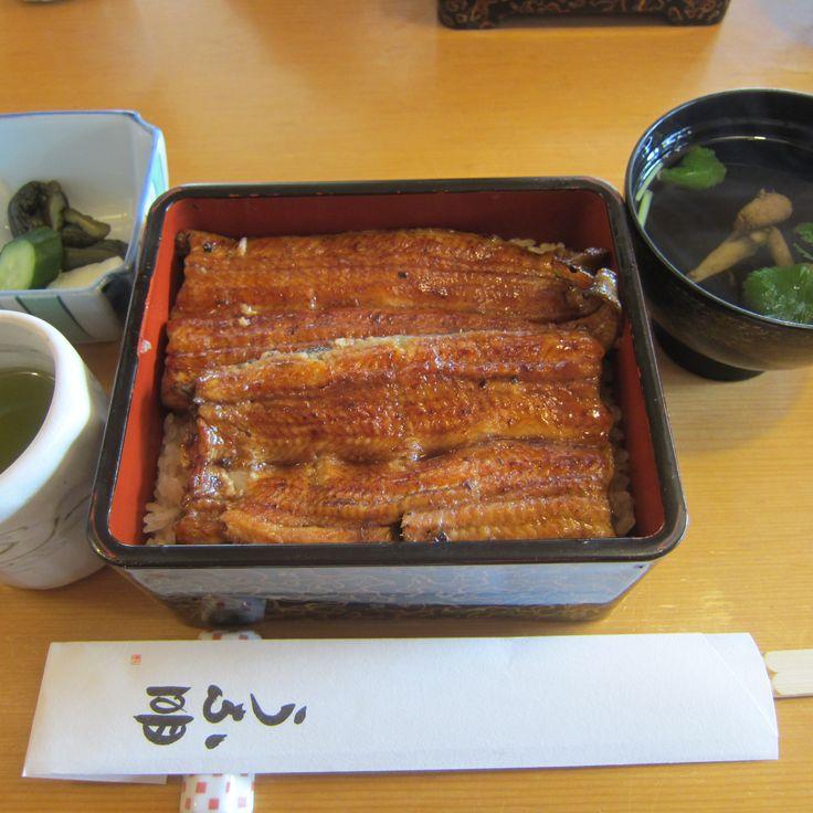 ●『うな明』 #Eel #Grilled-eel #Unaju #Lacquer-ware-box #UNAMEI #Sapporo #Japan #うな重 #久し振り #友達にゴチ #札幌 #うな明 #장어  #덮밥