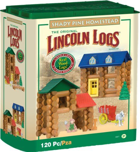 Lincoln Logs Shady Pine Homestead Only $38