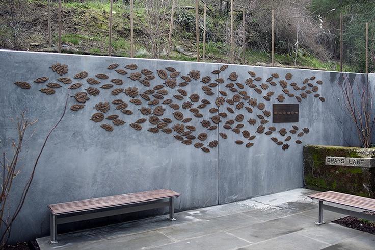 Los Gatos Library exterior donor wall   Donor Walls ...