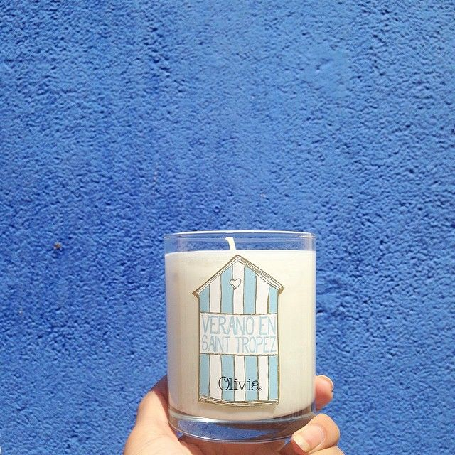 """@marialorenzo en Instagram: """"¡Este verano pienso ser la reina de las cenas a la luz de la luna y las velas de @oliviasoaps ! #oliviasoaps #lacasazul"""" #oliviasoaps #veranoensainttropez #oliviatheshop"""