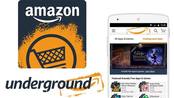 Amazon Underground, toda la información sobre la nueva sección que nos regalará más de 10.000 dólares en apps y juegos gratis para Android.