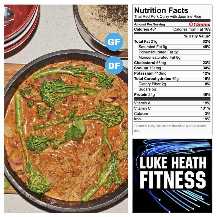 Thai Red Pork Curry with Jasmine Rice – Luke Heath Fitness