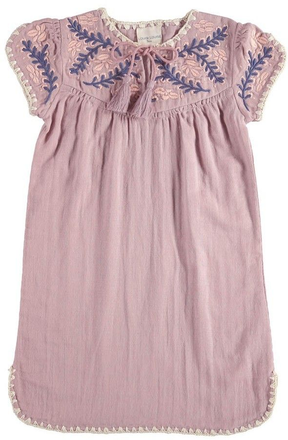 Anoush Embroidered Dress