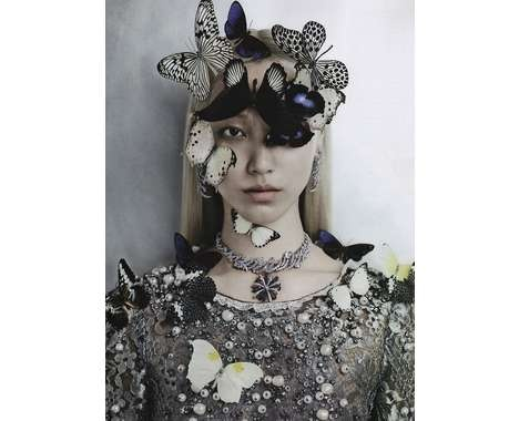 Butterfly Fashion Editorials #Fashion #Insect #Vogue http://www.trendhunter.com