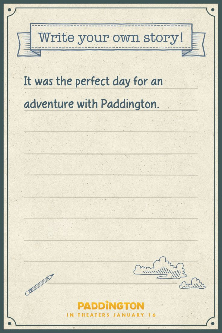 Need a FREE after school activity for the kiddos? Test how much they've learned in grammar class with this fun Paddington game! Write your own story with Paddington. Perfect for elementary aged kids. | Paddington