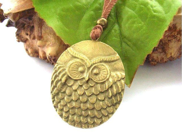 Owl necklace £12.00