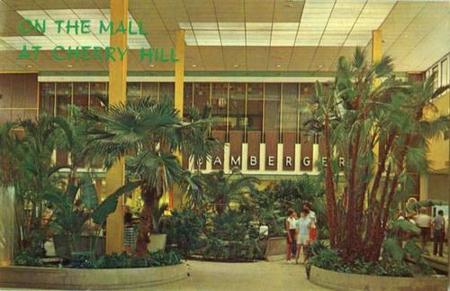 Cherry Hill Mall, Cherry Hill, New Jersey  c. 1960s