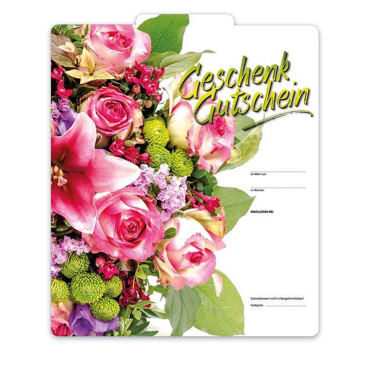 Bestell-Nr. BL254, Multicolor-Geschenkgutscheine für alle Branchen und Anlässe!