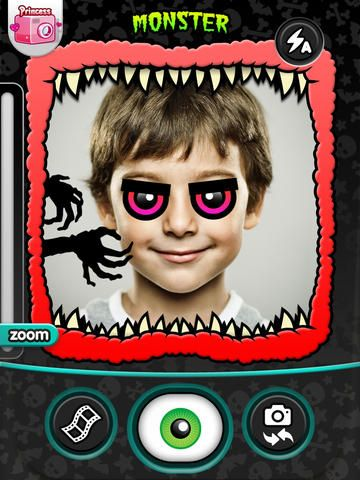 Kidomatic Camera - take a picture of yourself and create a new character that you can write about.