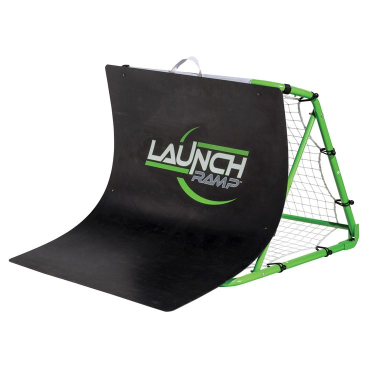 Franklin Sports Launch Ramp Soccer Trainer, Green