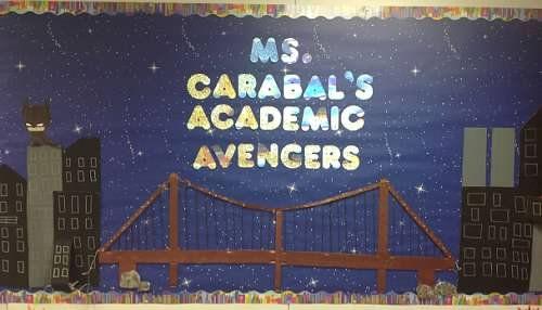 Ms. Carabal's Academic Avengers - my classroom website.