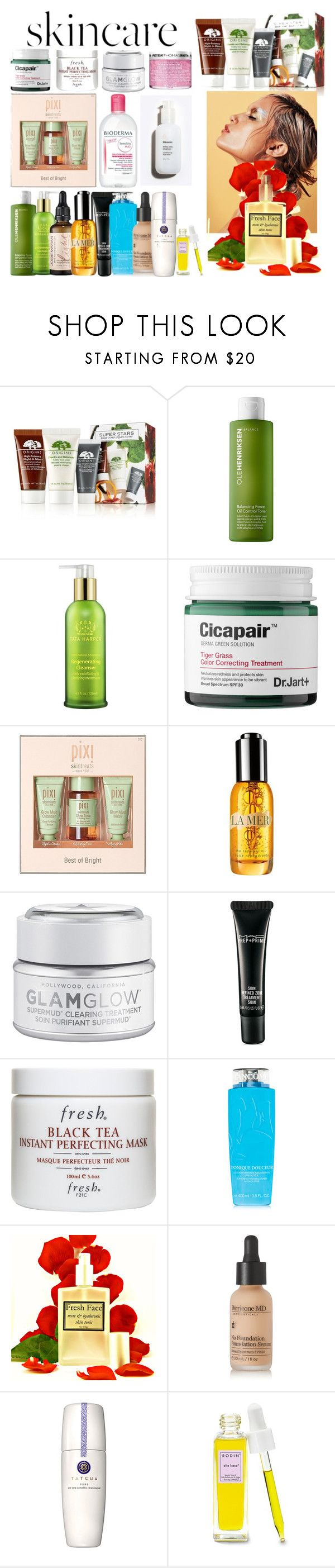 """""""We're gonna die anyway"""" by busrashin ❤ liked on Polyvore featuring beauty, Origins, Ole Henriksen, Tata Harper, H2O+, Josie Maran, Pixi, Peter Thomas Roth, La Mer and GlamGlow"""