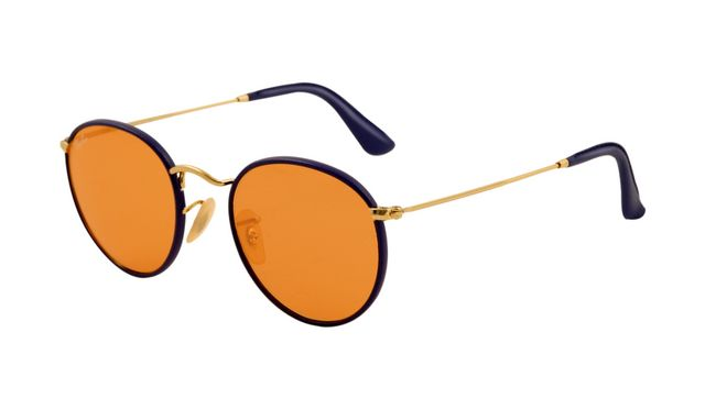 ray ban sunglasses black lense  ray ban rb3475q sunglasses black frame orange crystal lens