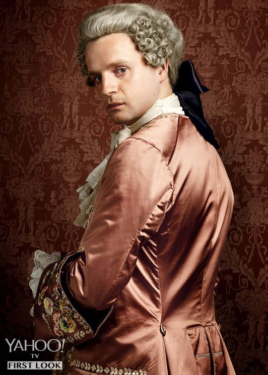 Andrew Gower as Prince Charles Stuart | 'Outlander' Season 2: First Look at 5 New Character Portraits