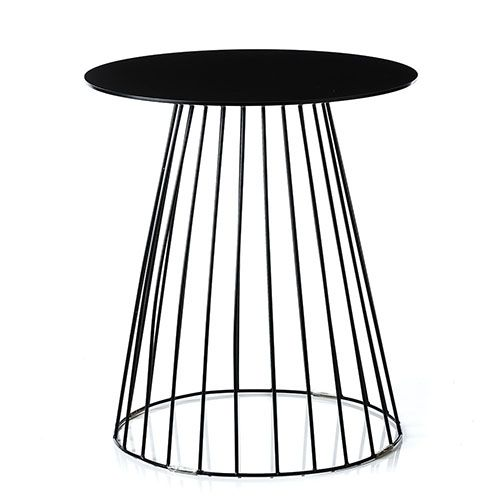 Element Black Tower Side Table